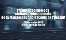 "David Le Breton ""l'adolescence meurtrie"""