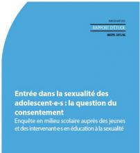 Entrée dans la sexualité des adolescent·e·s : la question du consentement